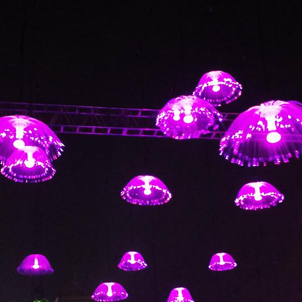浙江LED水母光纤灯