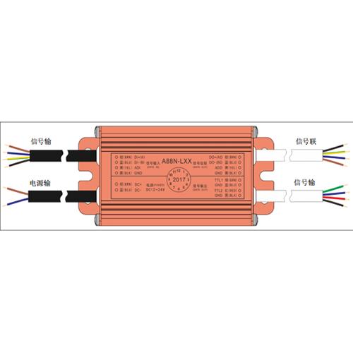 信阳LED亮化灯具控制器A88N适用于N40,L40及以上版本