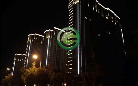 丹阳大亚城楼体亮化照明案例