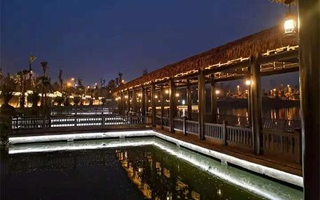 枫香湖儿童公园园林景观亮化照明案例