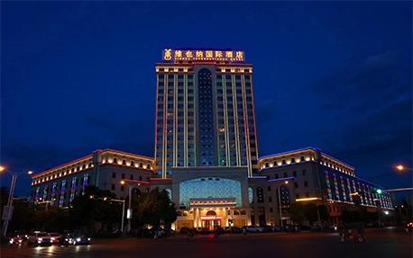 维也纳酒店亮化照明案例