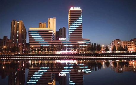 中信银行大厦楼体亮化照明案例