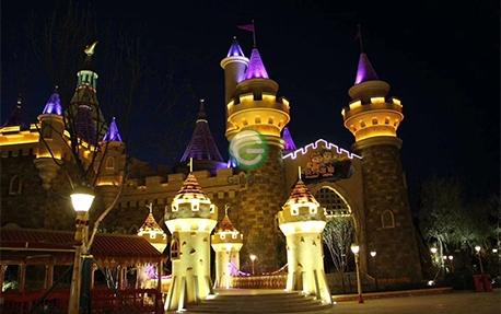 游乐园亮化照明案例