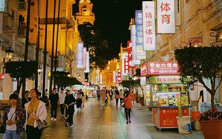 商业步行街亮化照明案例