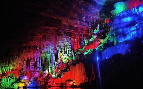 中峰洞溶洞亮化照明案例