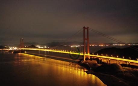 舟山跨海大桥桥梁亮化鉴赏
